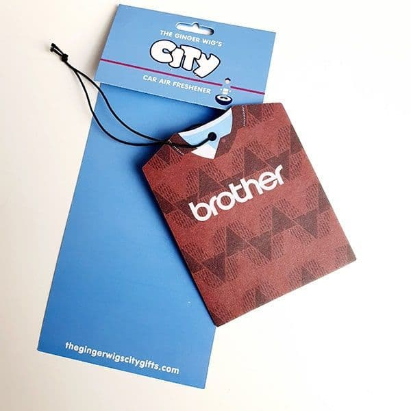 Home & Away 89 Manchester City Air Freshener